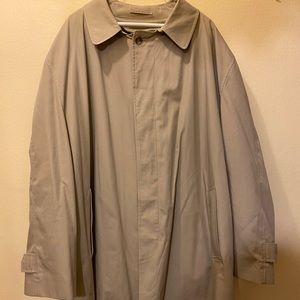 London Fog men's 4X trench coat